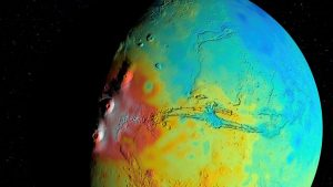 New Gravity Map of Mars Suggests It Has a Porous Crust