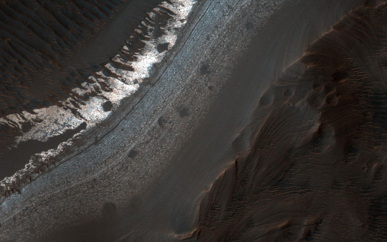 New HiRISE Image of Holden Crater