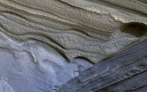 New HiRISE Image of Mars North Polar Layers