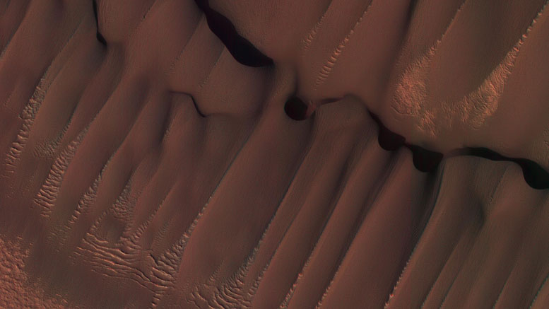 New HiRISE Image of Martian Dunes