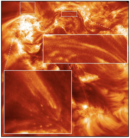 Rocket-Launched Hi-C Camera Captures Detailed Images of the Solar Corona