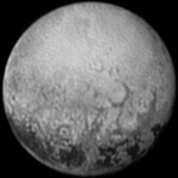 New Horizons' Last Image of Pluto's Puzzling Spots