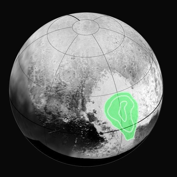 New Horizons Discovers Frozen Carbon Monoxide in Pluto's 'Heart'