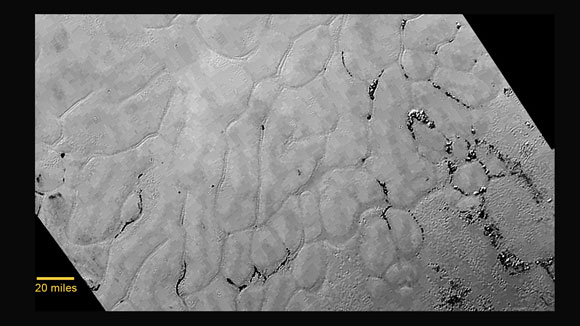 New Horizons Discovers Frozen Plains in the Heart of Pluto