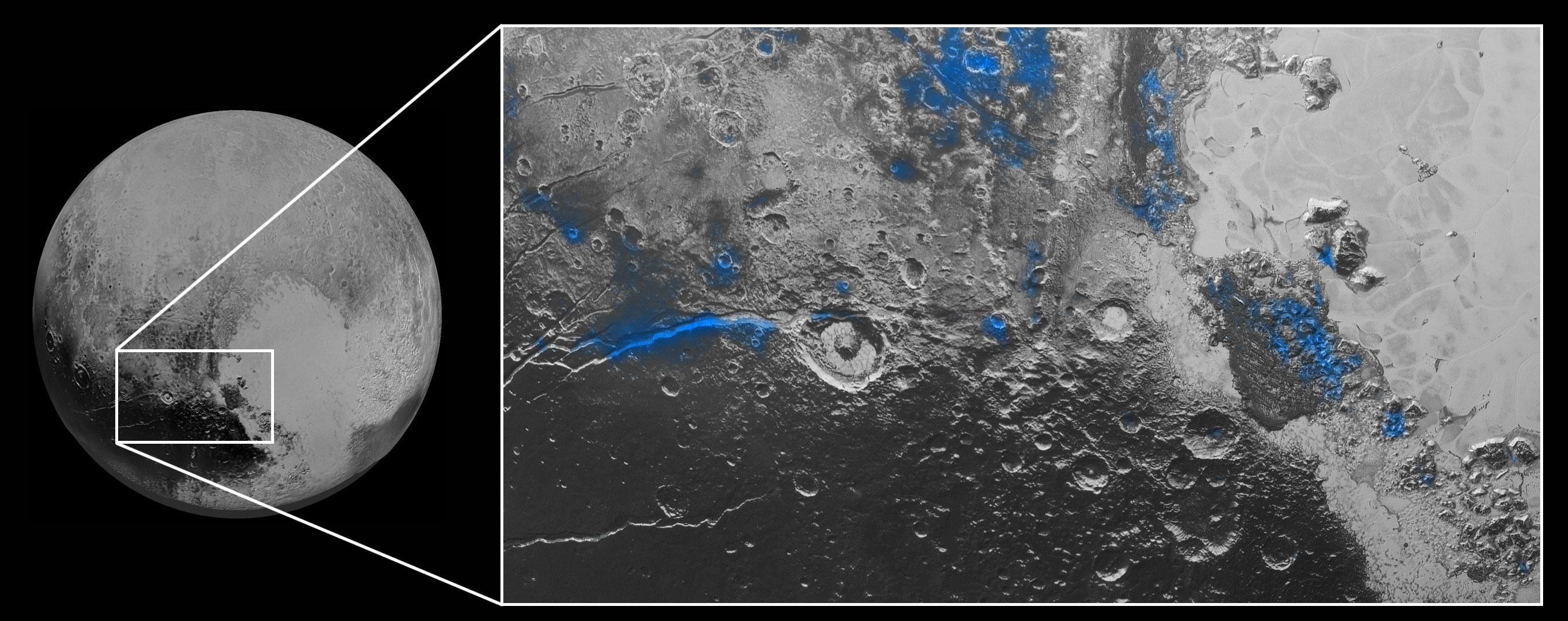 New Horizons Spacecraft Reveals Blue Skies And Water Ice