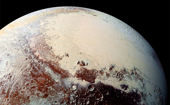 New Horizons High-Resolution Image of Pluto