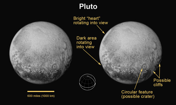 New Horizons Update: One Million Miles to Go, Pluto More ...
