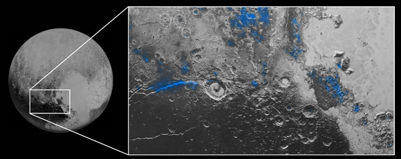 New Horizons Reveals Water Ice on Pluto