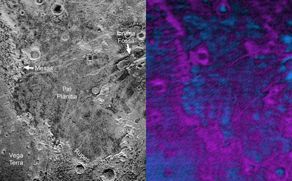 New Horizons Shows Sublimation Eating Away at Pluto's Surface