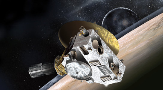 New Horizons Spacecraft Awakens for Encounter with Pluto