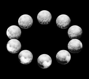 New Horizons Spacecraft Captured Pluto Rotating Over the Course of a Full Pluto Day