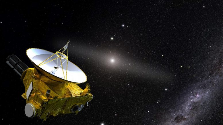 Illustration of the New Horizons spacecraft