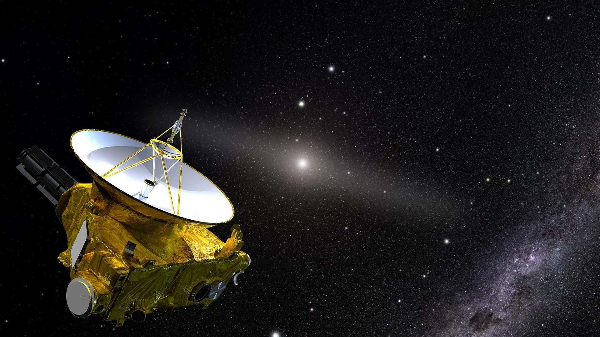 New Horizons Spacecraft Data Shows There Are Far Fewer Galaxies in the Universe Than Previously Thought