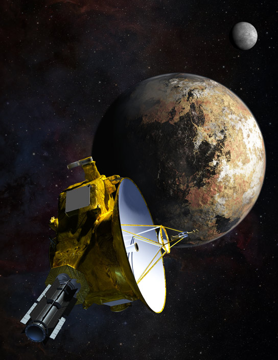 New Horizons Spacecraft Nears Historic Encounter with Pluto