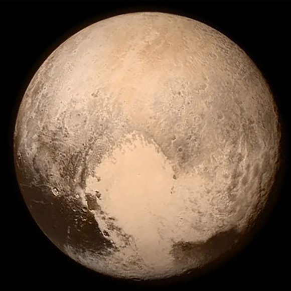 New Horizons Spacecraft Views Pluto