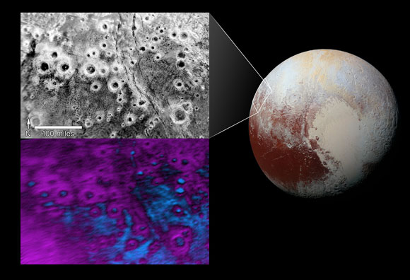 New Horizons Views Pluto's 'Halo' Craters