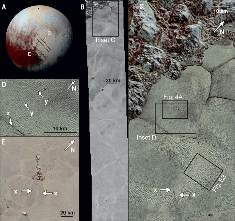 New HorizonsDiscovers Methane Dunes on Pluto