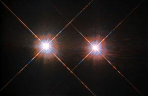 New Hubble Image of Alpha Centauri A and B