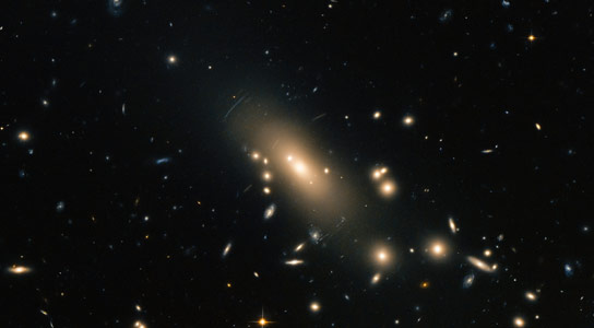New Hubble Image of Galaxy Cluster Abell 1413