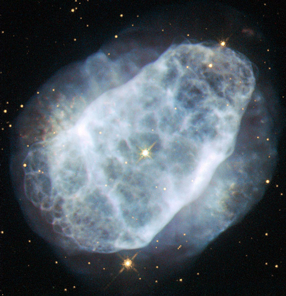 New Hubble Image of Planetary Nebula NGC 6153