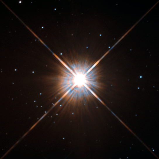 New Hubble Image of Proxima Centauri