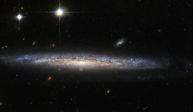 New Hubble Image of Spiral Galaxy NGC 5714