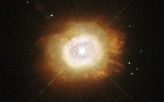 New Hubble Image of Star HD 184738