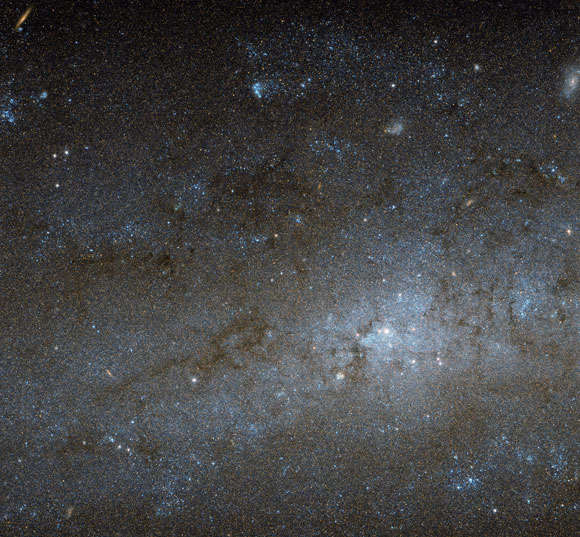 New Hubble Image of the Center of NGC 247