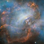 New Hubble- mage of the Crab Nebula