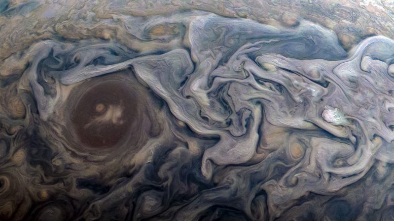 New Image Captures Dramatic Atmospheric Features of Jupiter
