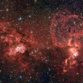 New Image Reveals Two Dramatic Star Formation Regions in the Southern Milky Way