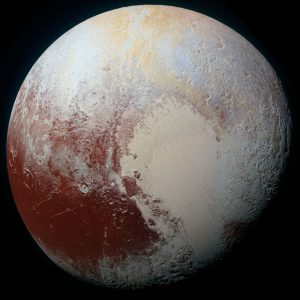 New Image Reveals the Rich Color Variations of Pluto