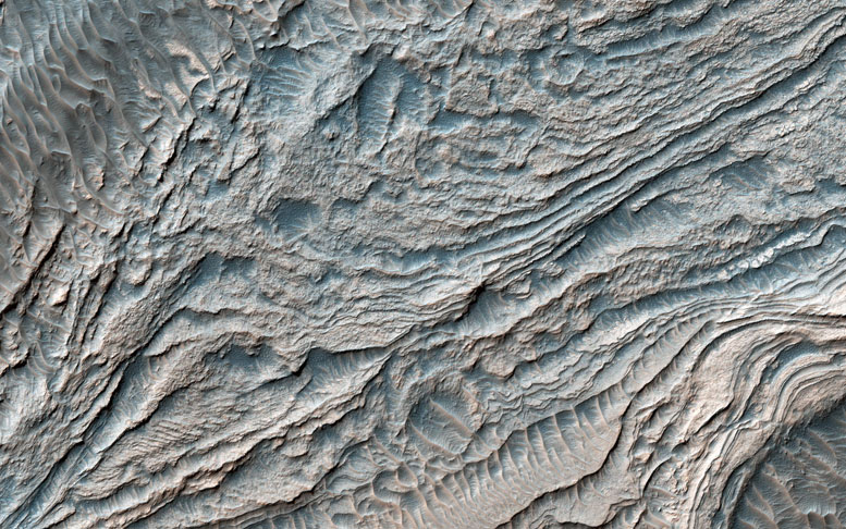 New Image from NASA's Mars Reconnaissance Orbiter