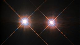 New Image of Alpha Centauri A and B