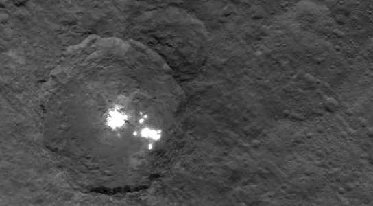 New Image of Bright Spots on Ceres