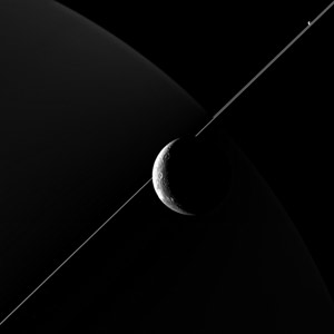 New Image of Dione