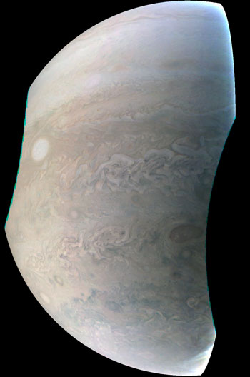 New Image of Jupiter from Juno