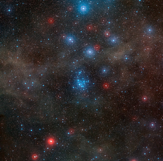 New Image of Open Star Cluster NGC 2547