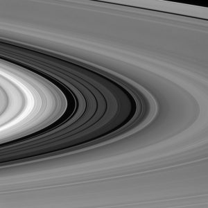 New Image of Saturn's Rings