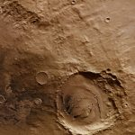New Image of Schiaparelli Basin from Mars Express
