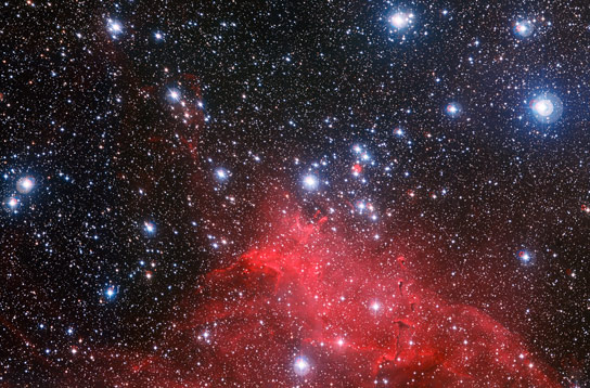 New Image of Star Cluster NGC 3572