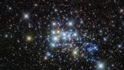 New Image of Super Cluster Westerlund 1