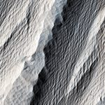 New Image of Wind Carved Rock on Mars