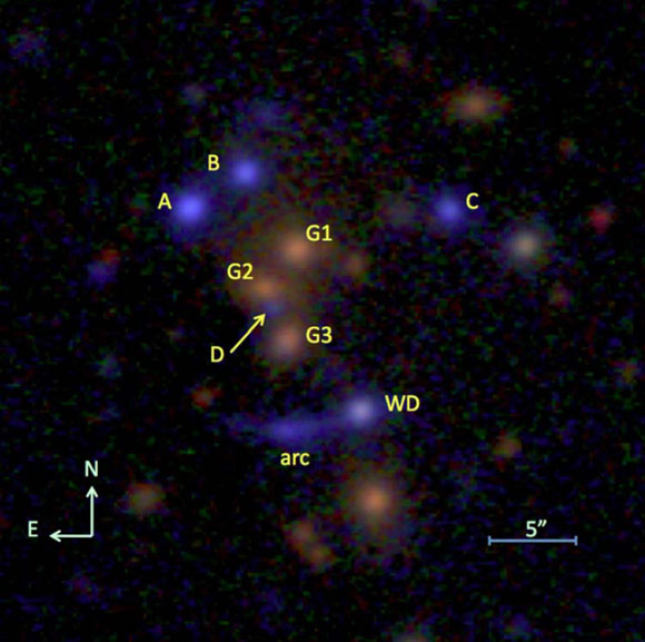 New Image of the Quintuple Quasar SDSSJ1029+2623