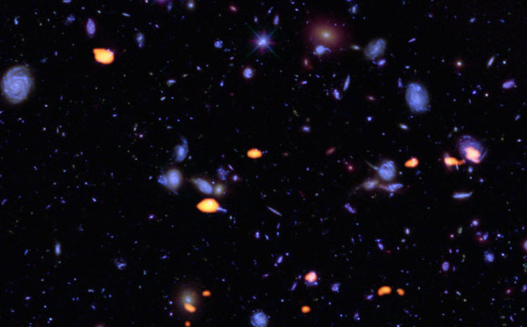 astronomers explore the hubble ultra deep field