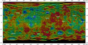 New Map of Dwarf Planet Ceres