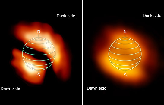 NASA Maps of Titan Reveal Large Patches of Trace Gases