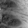 New Mars Image Shows Rolling Boulder