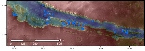 New Mars Study Adds Clues about Possible Water