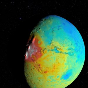 New NASA Gravity Map of Mars